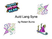 English powerpoint: Auld Lang Syne