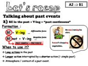 English powerpoint: What happened? I was doing... when I had an accident. PART 2