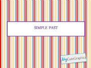 English powerpoint: Simple past (preterite) - regular verbs