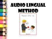 English powerpoint: Audio lingual method