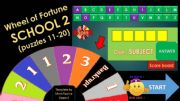 English powerpoint: Game_Wheel of Fortune_SCHOOL_Part 2