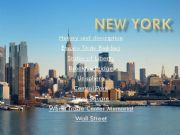 English powerpoint: New York in pictures with some basic explanations