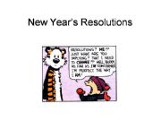 English powerpoint: NEW YEARS RESOLUTIONS - ADVANCED CONVERSATION STARTER