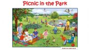 English powerpoint: Picnic in the Park