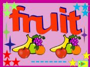 English powerpoint: Fruit: multiple choice activity