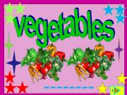 English powerpoint: Vegetables: multiple choice activity