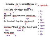 English powerpoint: correcting mistakes