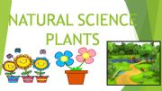 English powerpoint: NATURAL SCIENCE - PLANTS