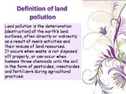 English powerpoint: Noise and Land Pollution Causes , Effects and Solutions    (part3)