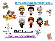English powerpoint: JOBS and OCCUPATIONS - vocabulary and exercises - part 1 From A to M