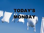 English powerpoint: Today´s Monday song