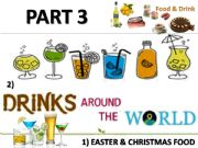 English powerpoint: Food and drinks around the world - part 3