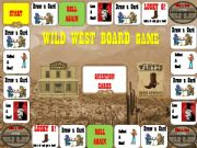 English powerpoint: Old West Board Game