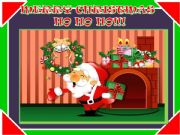 English powerpoint: Christmas : multiple choice  with a little animation part 1