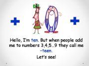 English powerpoint: Numerals