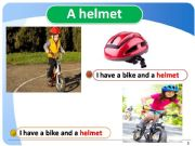 English powerpoint: Sports-equiptment