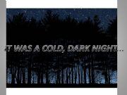 English powerpoint: Halloween: It was a cold, dark night...