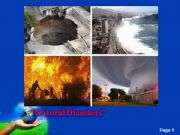 English powerpoint: Natural Disasters-1