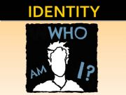 English powerpoint: Who am I?