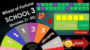 English powerpoint: Game_Wheel_of_Fortune_SCHOOL_Part_3