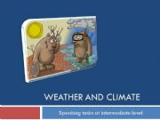 English powerpoint: Weather and climate