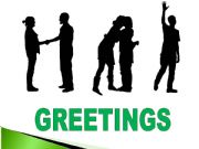 English powerpoint: GREETINGS