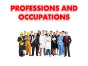English powerpoint: Professions and Occupations