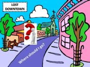 English powerpoint: Lost downtown