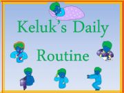 English powerpoint: A Student´s Daily Routine--Part One