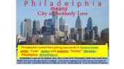 English powerpoint: ABCs of Philadelphia, a Tour of History, Sights, and Culture--Part One