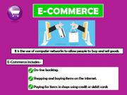 English powerpoint: E-COMMERCE