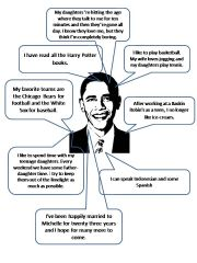 English powerpoint: Interview Mr.Obama
