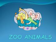 English powerpoint: Zoo animals