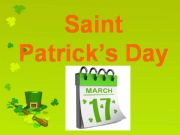 English powerpoint: Saint Patrick´s Day