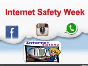 English powerpoint: internet safety