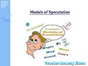 English powerpoint: PERFECT MODALS OF SPECULATION