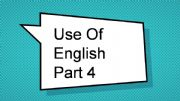 English powerpoint: Use OF English Part 4. FUN. Key Word Transformations. Advanced