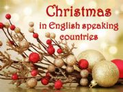 English powerpoint: Christmas in English Speaking Countries - part 1
