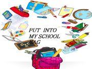 English powerpoint: In my school bag