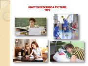 English powerpoint: How to describe a picture. Tips.