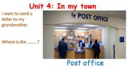 English powerpoint: In My Town (2)
