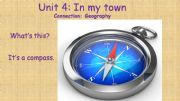 English powerpoint: Geography- Directions