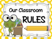 English powerpoint: classroom rules