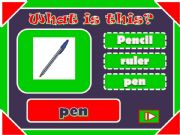 English powerpoint: classroom items ppt