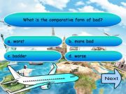 English powerpoint: Comparative and Superlative Game with sounds