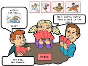 English powerpoint: can you + sports - CARD GAME happy families