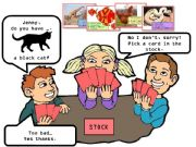 English powerpoint: do you have + animals? CARD GAME happy families