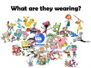 English powerpoint: Nickelodeon clothes