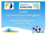 English powerpoint: Gamification and learning:)