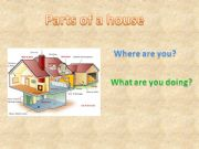 English powerpoint: Parts of a house 2